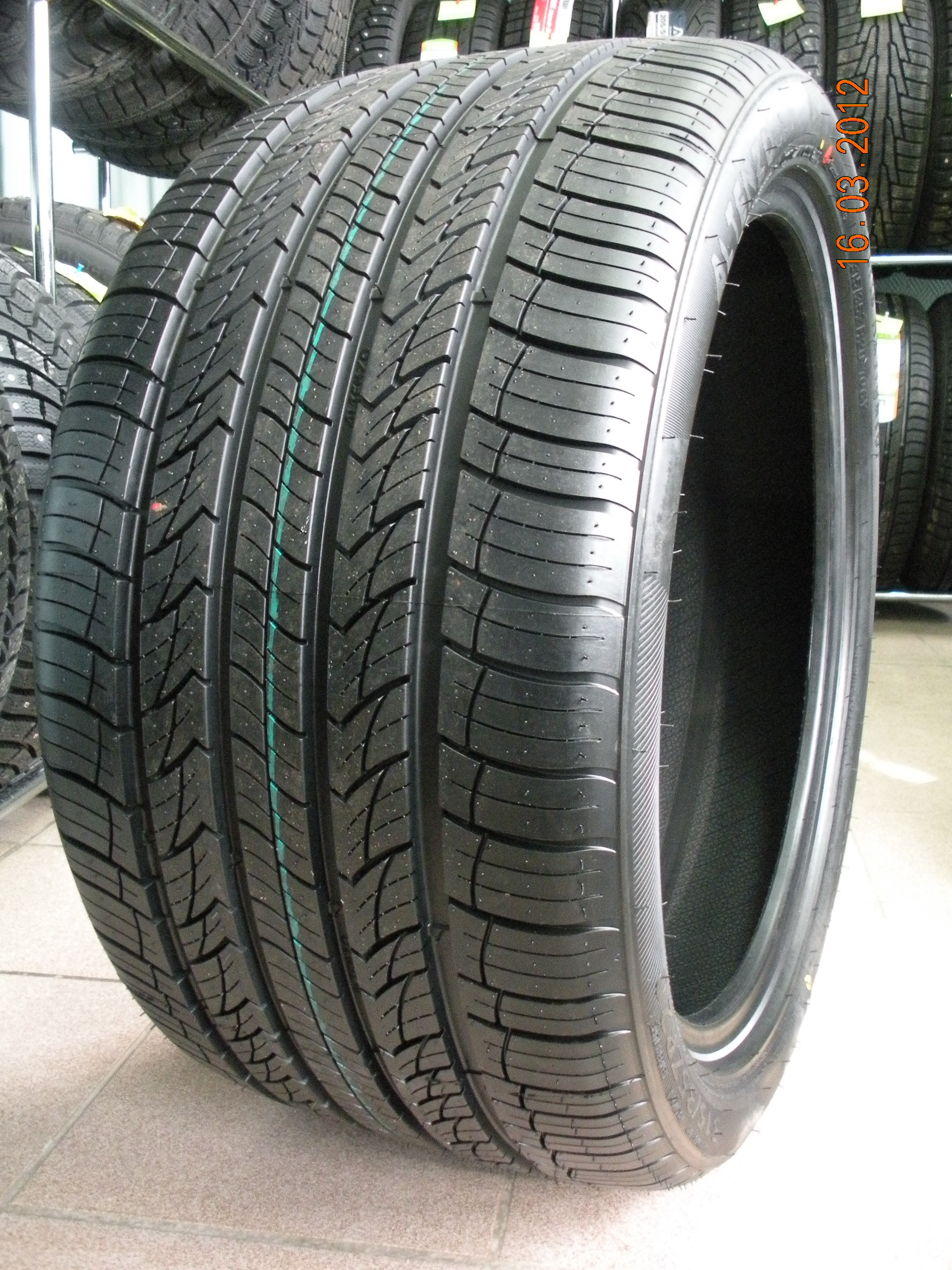 летние шины Altenzo SPORTS NAVIGATOR 285/30 R22 101/W