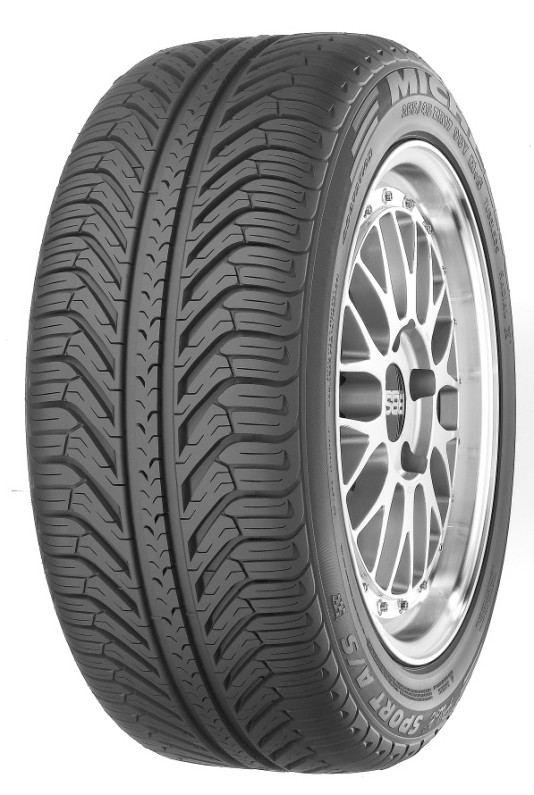 летние шины Michelin Pilot Sport A/S PLUS 255/45 R19 100/V